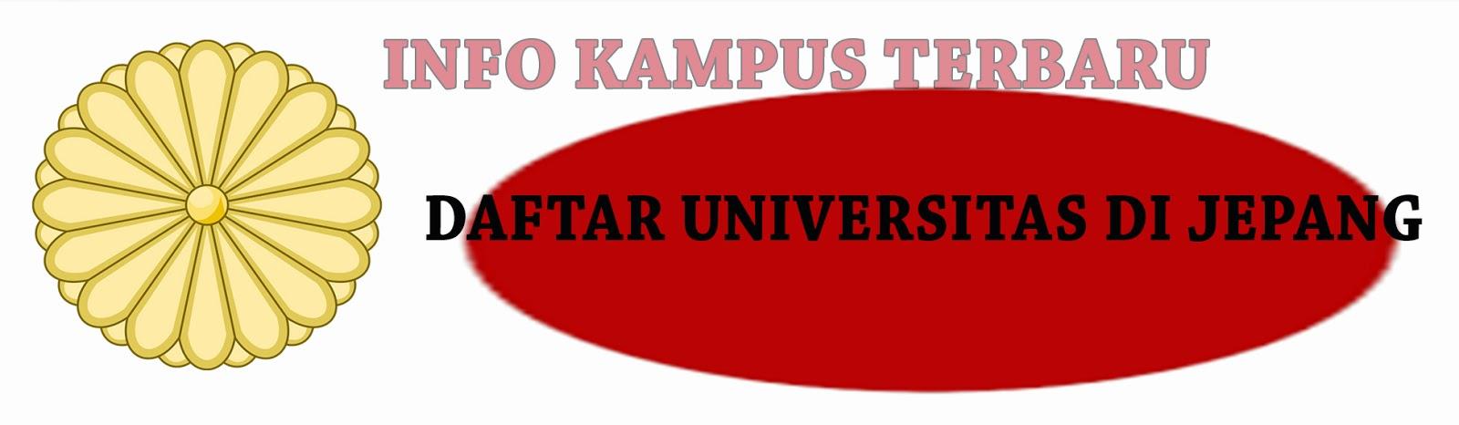 Daftar Universitas Di Jepang