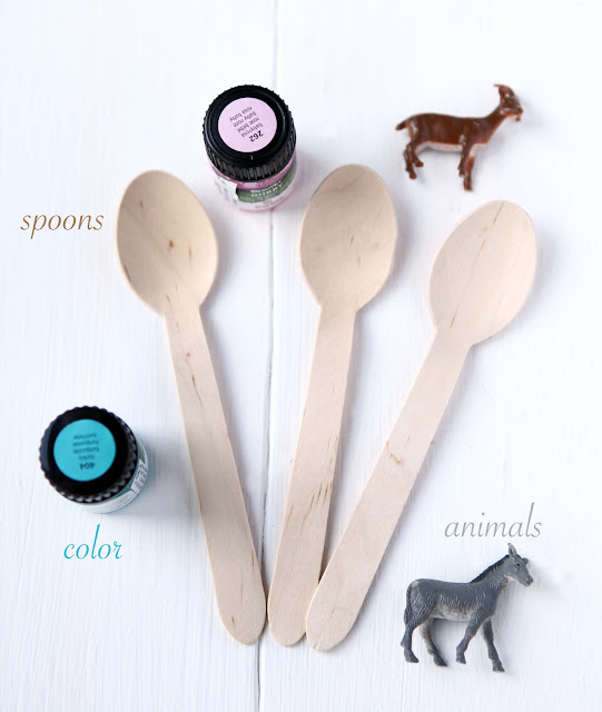 my little zoo spoons