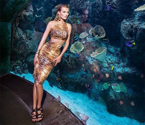 Água de Coco coleção moda praia verão 2015 saia e top cropped