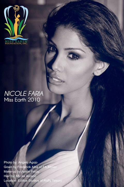Nicole Faria, Miss Earth 2010,Miss Earth