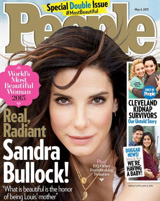 Sandra Bullock Diiktiraf Wanita Tercantik Di Dunia 2015