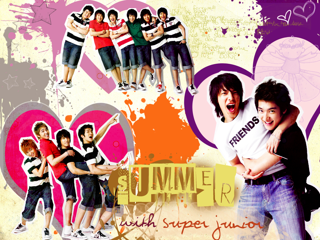 View Super Junior Summer wallpaper  Download Super Junior Summer