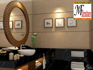 Bath Room, Wastafel, Spa Room - Portfolio Custom Interior Design and Furniture Manufacture - Kamar Mandi, Wastafel, Ruangan Spa