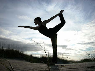 mengecilkan paha, olahraga yoga