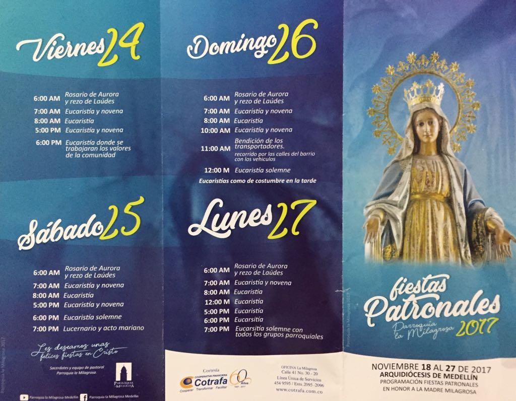 Fiestas Patronales 2017