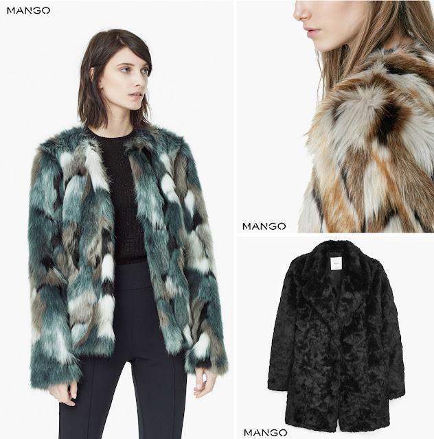 Mango Fur Coats