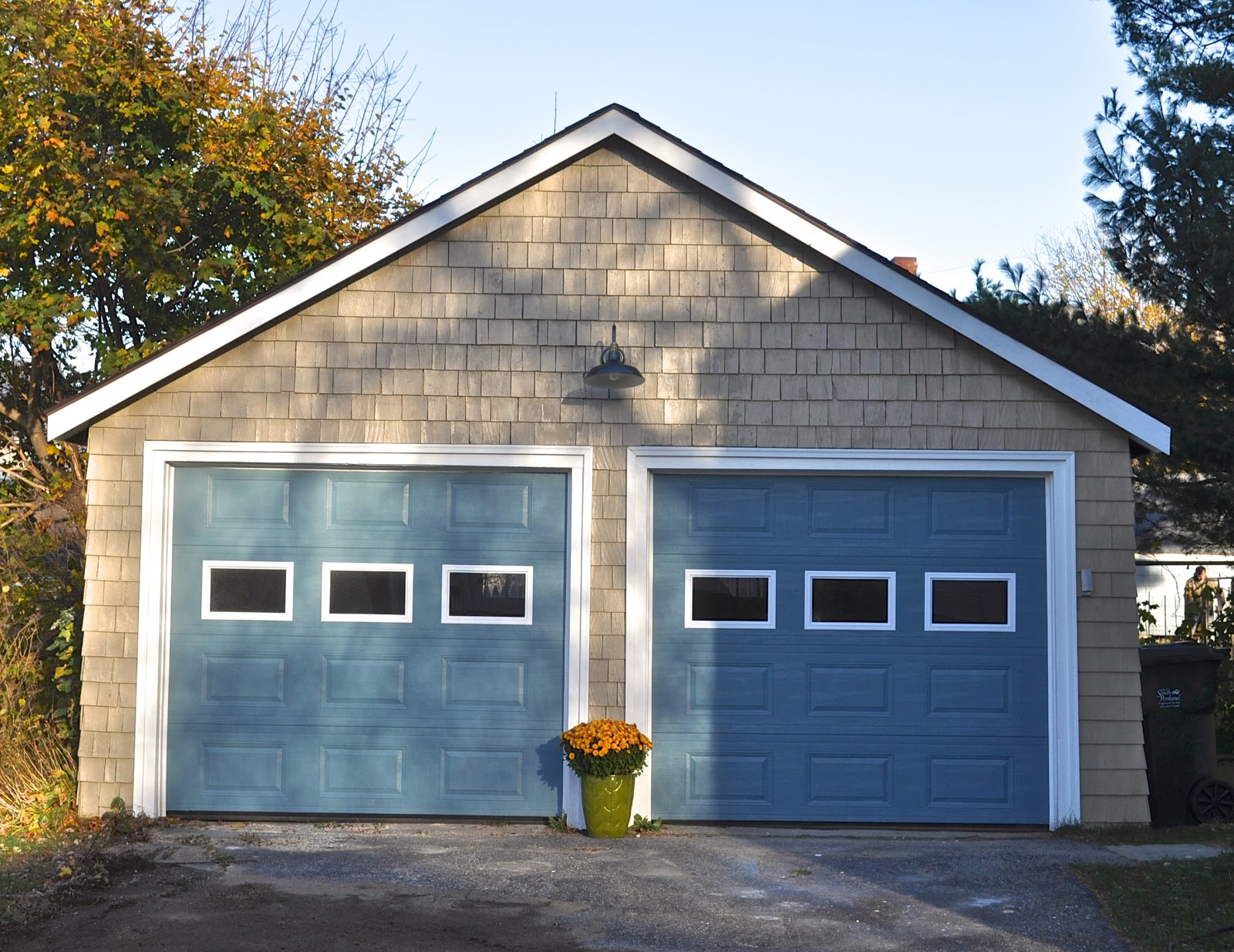 Garageshed on pinterest detached garage garage plans for Prefab 2 car detached garage