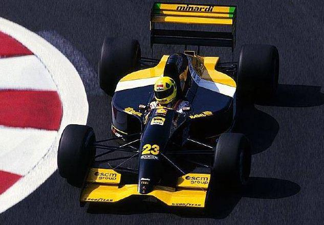 Minardi, equipe histórica de Formula 1 de 1992 - by pordentrodosboxes.blogspot.com