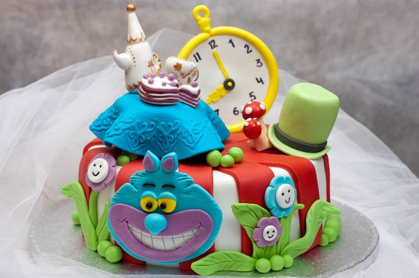 Birthday Cake Decor Ideas Photograph | Cake decorations: Ali