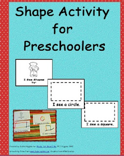 shapes, shape activities for preschoolers, printables, free PDF, preschool shape activities