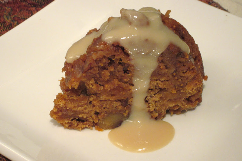 Steamed Fig Pudding Recipe — Dishmaps