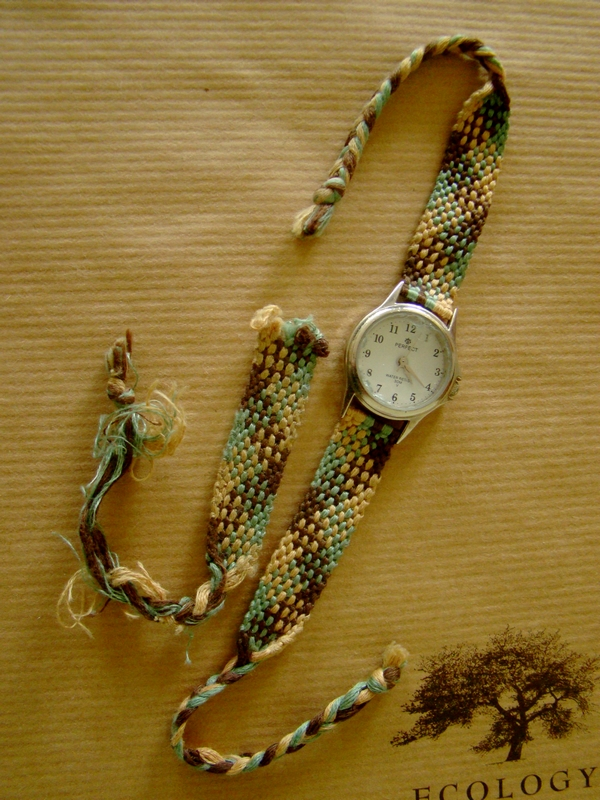 Zegarek z muliny