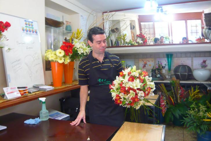 Curso de Arte Floral e Ikebana, Sede - SP.