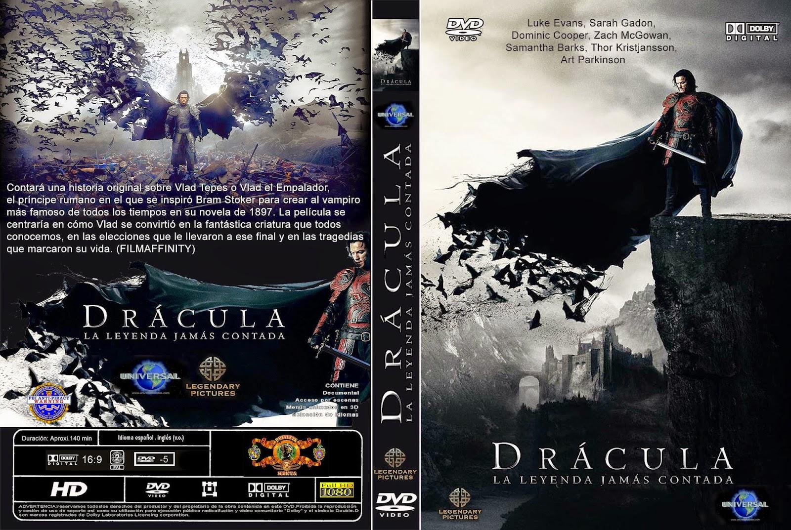 Dracula La Leyenda Jamas Contada DVD