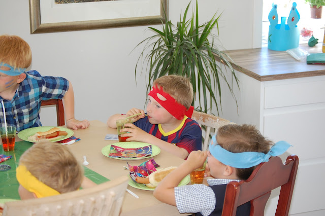 Ninja turtles bursdag
