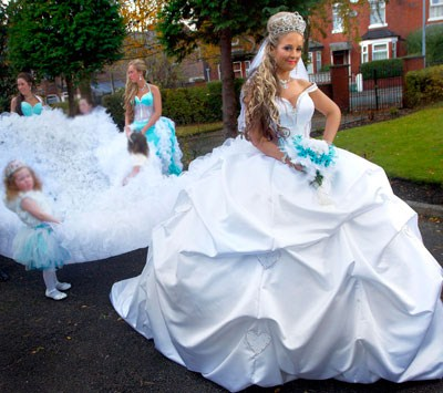 gypsy wedding dresses. Royal Wedding Fever