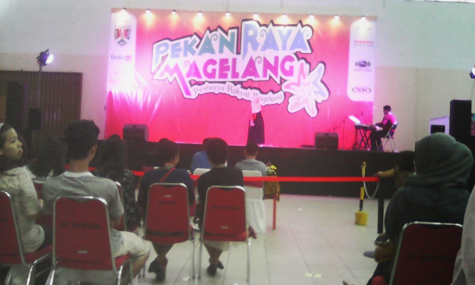 Dari Pekan raya Magelang 2014