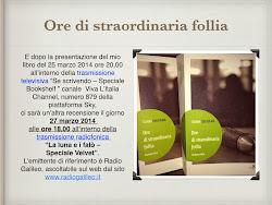 Presentazione Radiofonica e Televisiva