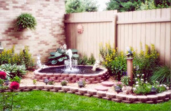 Las fuentes de agua decorativas y el feng shui for Fuentes ornamentales jardin