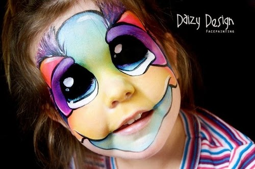 19-Christy Lewis Daizy-Face Painting - Alternate Personalities-www-designstack-co