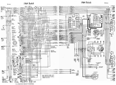 buick riviera 1964 complete electrical wiring diagram all about 91 Buick Regal Wiring Schematic 88 Buick Wiring Diagram buick wiring diagram