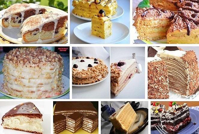 10 самых вкусных тортов рецепты с