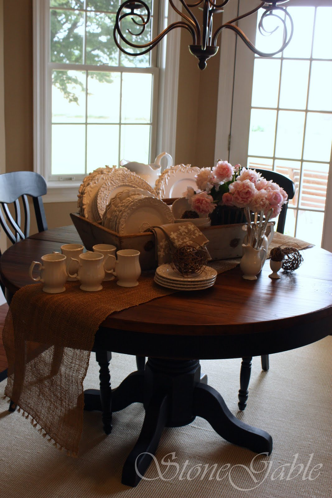 Farm Table Buffet Stonegable