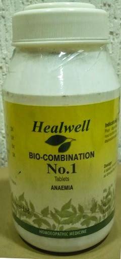 Bio-Combination No 1 Anaemia