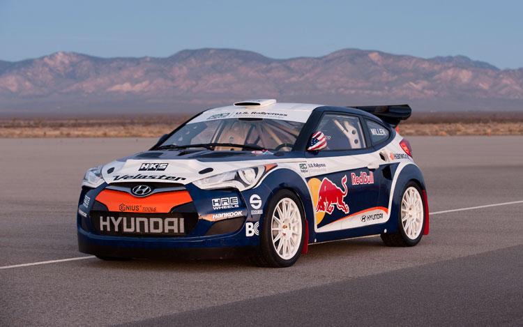 2012 Hyundai Veloster Rally Car