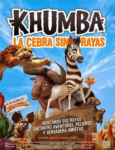 Khumba, la cebra sin rayas (2013) Online