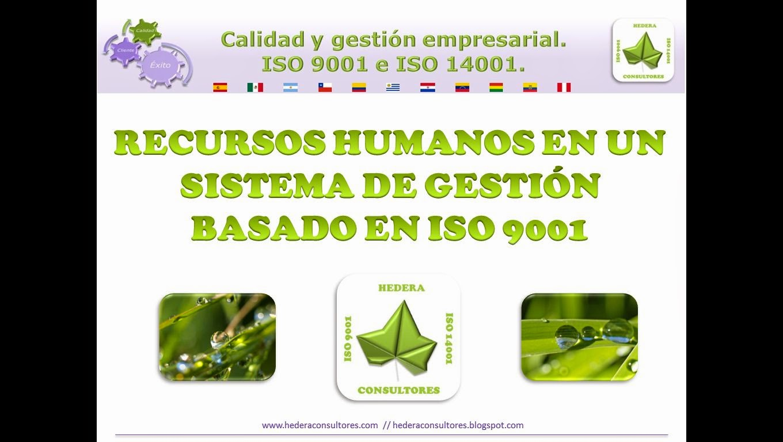 Recursos humanos ISO 9001