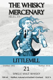 Littlemill 1992 bottled by The Whisky Mercenary