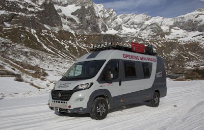 To Fiat Ducato 4x4 Expedition στην Έκθεση CMT 2016 της Στουτγάρδης