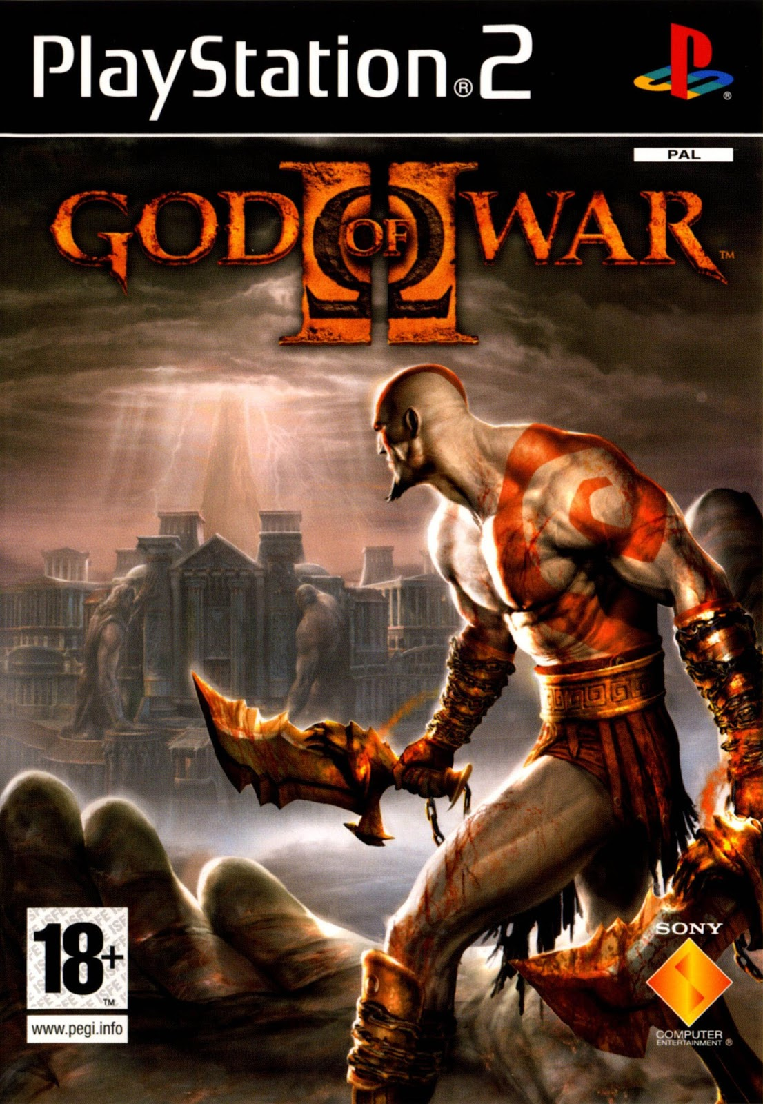 God Of War2 PS2 Game For PC