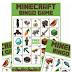 Bingo de Minecraft para Imprimir Gratis.