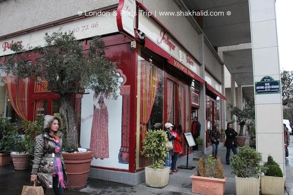premium beautiful Indian restaurant in Paris