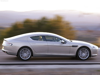 Aston Martin Rapide Grey Sport Car HD Wallpaper