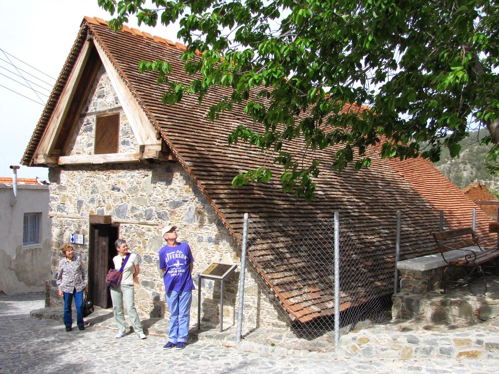 Chipre - Troodos - Iglesia del Arcangel San Miguel