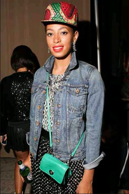 Solange Knowles in Babatunde snap back - iloveankara.blogspot.co.uk