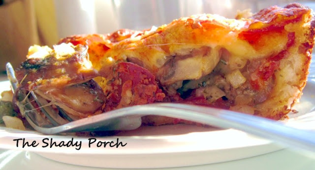 Pizza Casserole by The Shady Porch