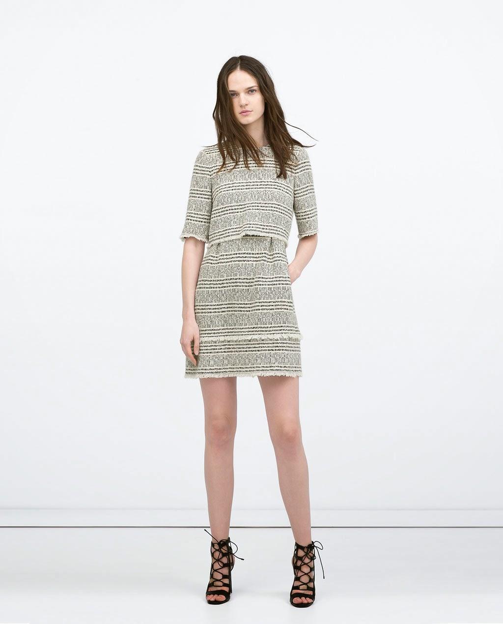 Clon vestido Chanel by Zara SS 2015