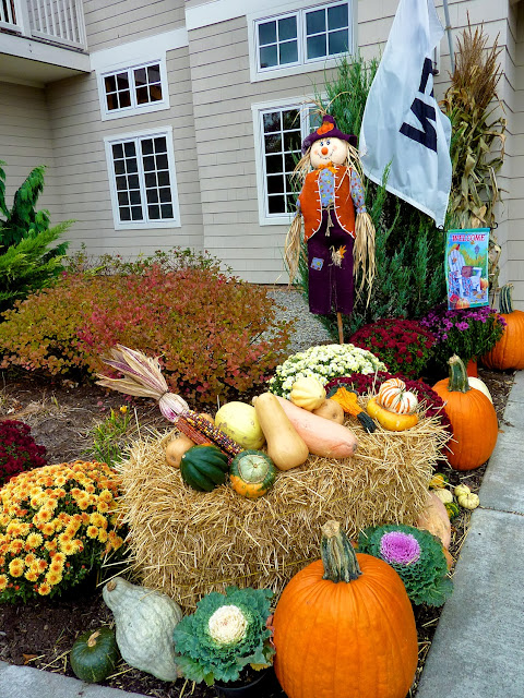 Decoración de Halloween en Canandaigua, estado de Nueva York