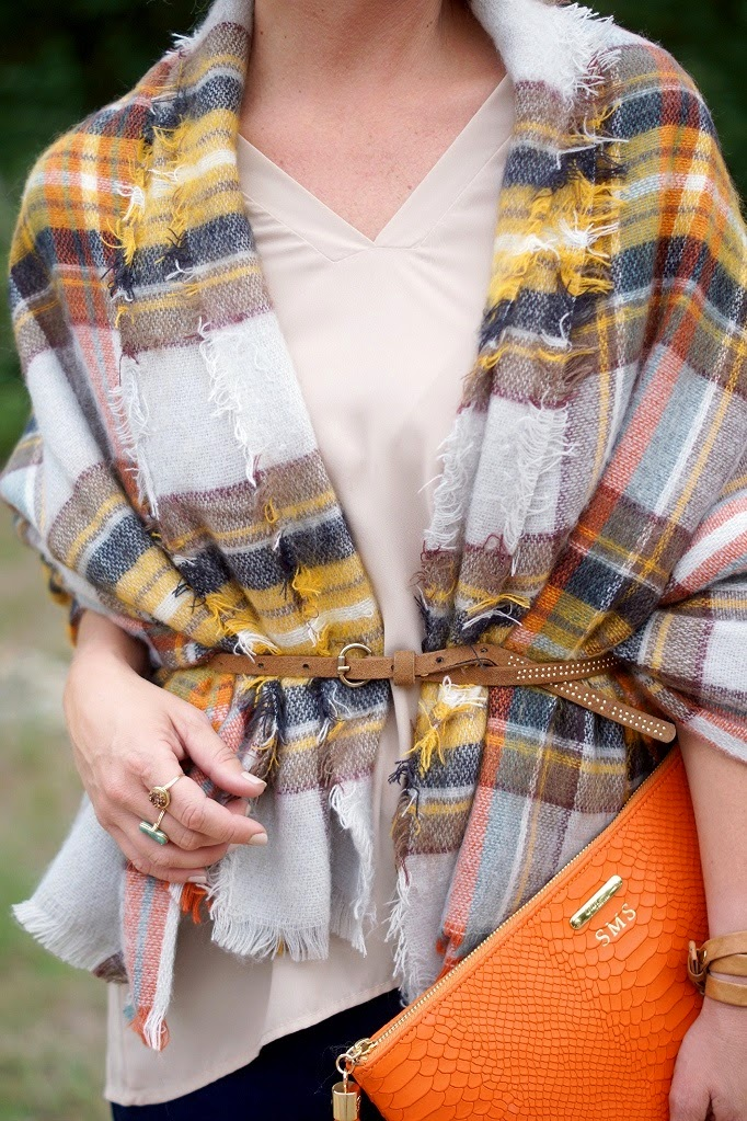 Cozy fall style outfit idea