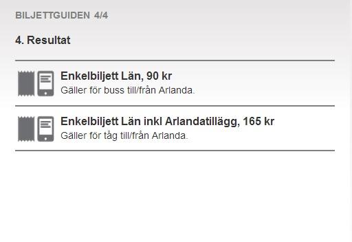 ul sms biljett stockholm
