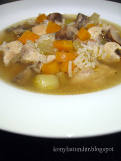 chicken-mushroom-soup-with-rice