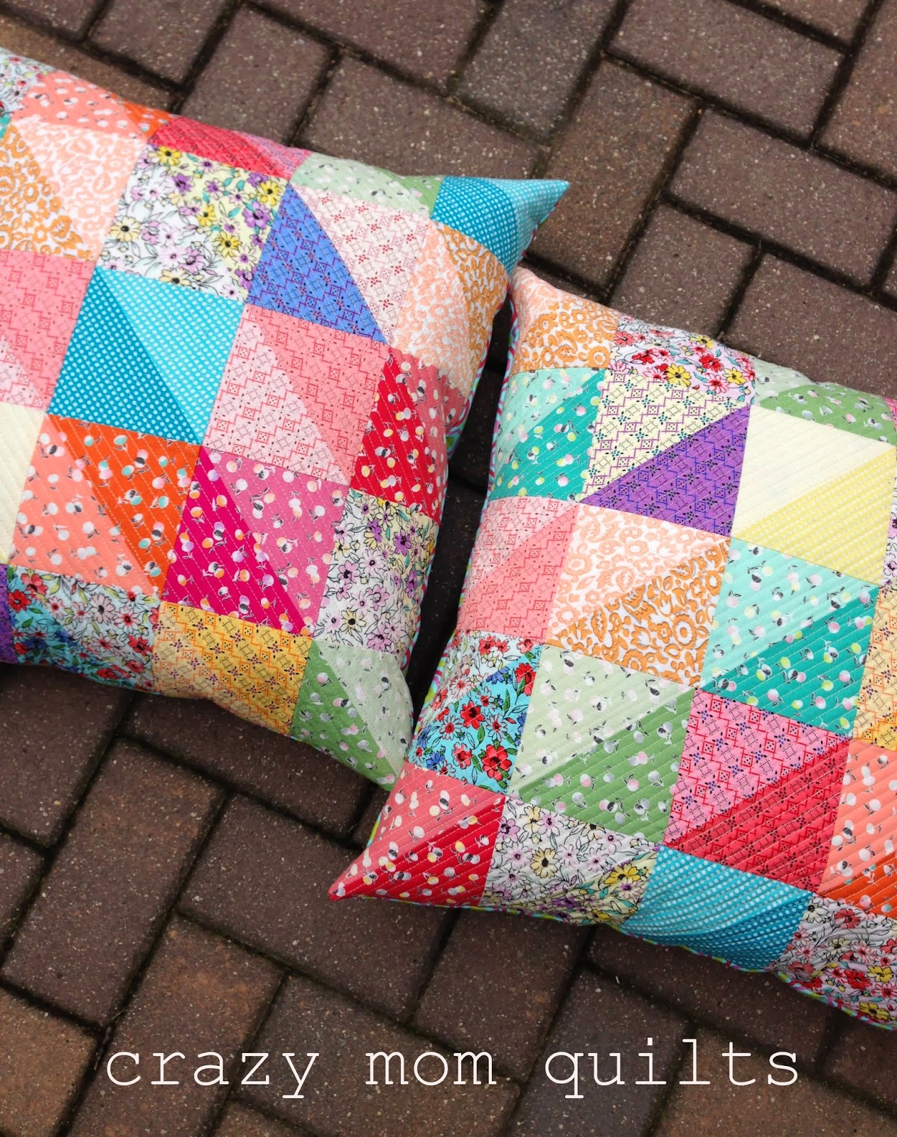crazy mom quilts: valued pillows : quilts and pillows - Adamdwight.com