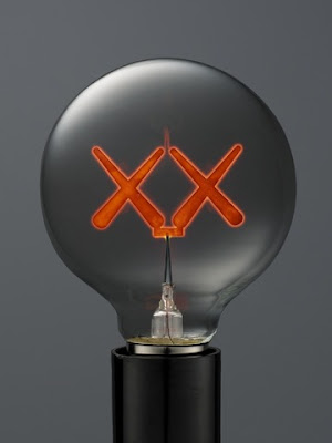 Kaws designs signature light bulbs for the standard that for Where can i buy light bulbs