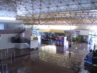 Saguão do Aeroporto de Caldas Novas - GO