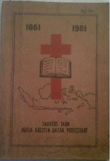 Buku Sejarah Huria Kristen Protestan (HKBP)