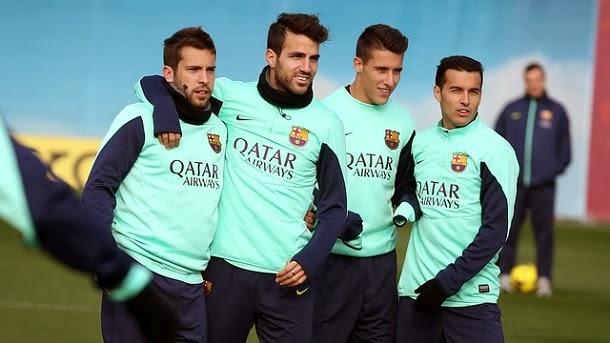Los jugadores del Barça tendrán fiesta hasta el 29 de diciembre